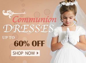 2018 Girls Lovely Communion Dresses