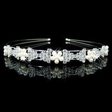 Alloy With Flower Bridal Wedding Tiara