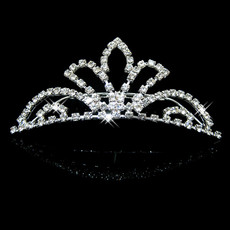 Cheap Beautiful Alloy With Rhinestone Bridal Wedding Tiara