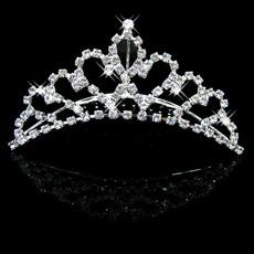 Affordable Beautiful Alloy With Rhinestone Bridal Wedding Tiara