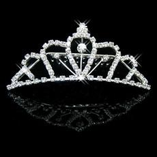 Inexpensive Beautiful Alloy With Rhinestone Bridal Wedding Tiara