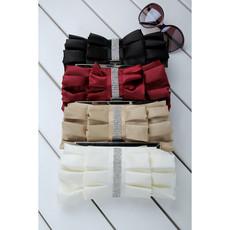 Beautiful Satin Evening Handbags/ Clutches/ Purses with Rhinestone