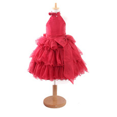 Ball Gown Knee Length Easter Dress/ Flower Girl Dress