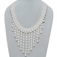 Affordable Beautiful White 6 - 7mm Freshwater Drop Pearl Necklace