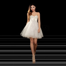 Beautiful A-Line Sweetheart Short Homecoming/ Party Dress