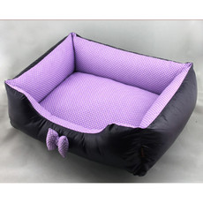 Inexpensive Purple Cozy Washable Pet Mat Dog Cat Soft Sleeping Bed 3 Sizes