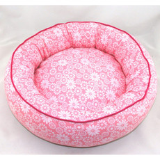 Inexpensive Pink Round Soft & Cozy Pet Mat Dog Cat Puppy Sleeping Bed 3 Sizes