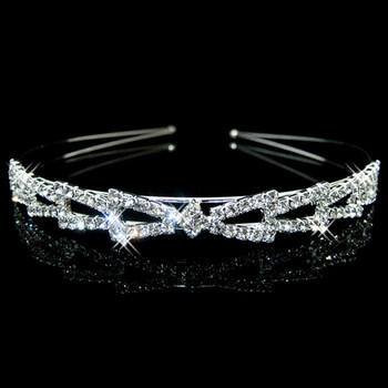 Affordable Beautiful Alloy With Rhinestones Bridal Wedding Tiara