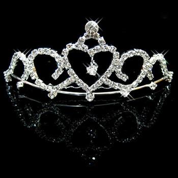 Cheap Beautiful Alloy With Rhinestone Bridal Wedding Tiara
