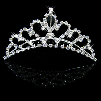 Affordable Beautiful Alloy With Rhinestone Bridal Wedding Tiara
