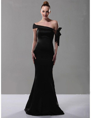 Designer Mermaid/ Trumpet Off-the-shoulder Prom Evening Dress for Women