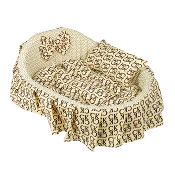 Affordable Cozy Washable Pet Bed Dog Cat Soft Sleeping Bed 3 Sizes
