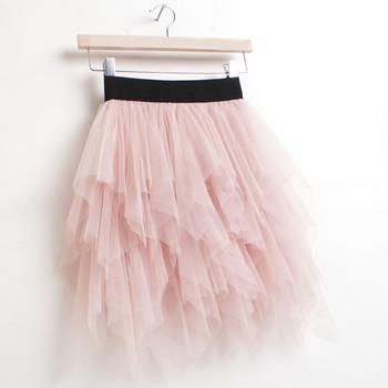 Girls' Ball Gown Pink Tulle Mini Tutus/ Skirts