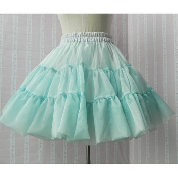 Girls' A-Line Mesh Mini Skirts/ Wedding Petticoat