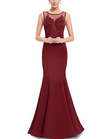 Discount Sheath Sleeveless Floor Length Satin Evening Dress
