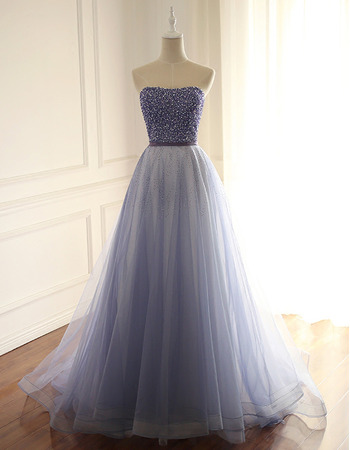 Elegant Strapless Beading Multi-Color Prom/ Party/ Formal Dress