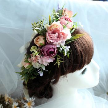 Kids Girls Floral Headband Hairband Headwear Hair Accessory
