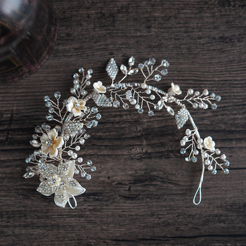 Alloy with Bead Wedding Headpieces/ Fascinators for Brides