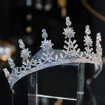 Alloy with Crystal Wedding Tiara/ Headpieces for Brides