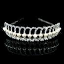 Affordable Beautiful Alloy With Pearl Bridal Wedding Tiara