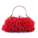 Cheap Beautiful Lace Evening Handbags/ Clutches/ Purses with Rhinestone