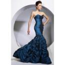 Women's Vintage Mermaid/ Trumpet Sweetheart Taffeta Prom Evening Dress