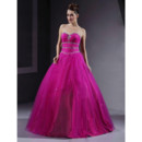 A-Line Sweetheart Floor Length Quinceanera Dress for Women and Girls