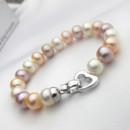 Beautiful White/ Pink/ Purple/ Multicolor 7.5 - 8.5mm Freshwater Pearl Bracelet