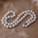 Beautiful White 6 - 7mm Freshwater Round Pearl Necklaces