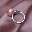 Affordable Stunning Pink/ White/ Purple 9.5 - 10.5mm Freshwater Pearl Ring
