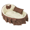 Inexpensive Cozy Washable Pet Bed Dog Cat Soft Sleeping Bed 3 Sizes