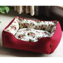 Inexpensive Soft & Cozy Red Printed Washable Pet Mat Dog Cat Puppy Bed 5 Sizes