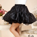 Party Black Organza Mini Tutus/ Skirts/ Wedding Petticoat