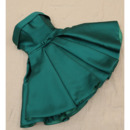 2018 A-Line Strapless Short Emerald Green Homecoming/ Party Dress