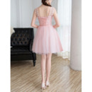 Short Chiffon Bridesmaid Dresses