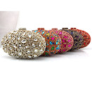 Jewel Egg Shape Wedding Party Evening Handbags/ Purses/ Clutches