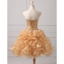 Affordable Ball Gown Sweetheart Floor Length Prom/ Quinceanera Dress