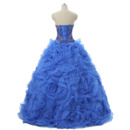 2019 New Ball Gown Sweetheart Floor Length Prom/ Quinceanera Dress