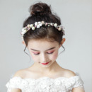 Flower Girl Pearl Hairband Headband Hair Accessory for Wedding