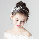 Flower Girl Hoop Headband Hairband Hair Accessory for Wedding