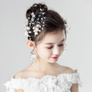 Beautiful Flower Girl Hair Clip Headwear Hair Accessory for Wedding
