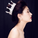 Alloy with Rhinestone Wedding Tiara/ Headpieces/ Fascinators