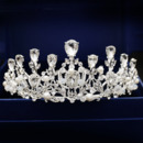 Alloy with Pearl Wedding Tiara/ Headpieces for Brides